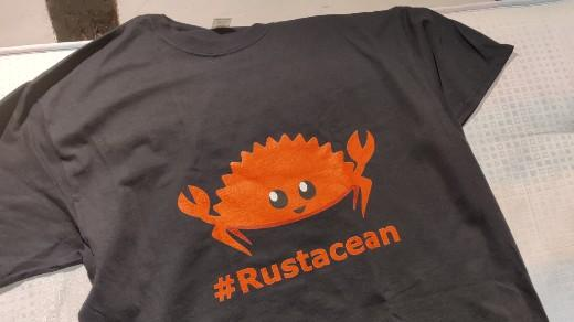 Rustacean t-shirt