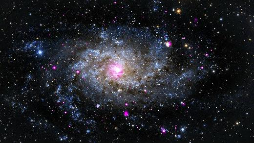 Triangulum galaxy, NASA