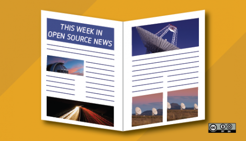 Weekly news roundup with newspaper