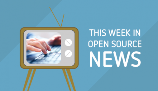 Open source news roundup for August 7-13, 2016