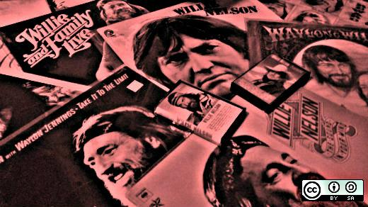 Willie Nelson music collection
