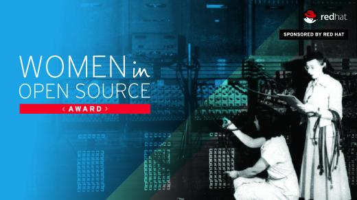 Women in Open Source Award by Red Hat