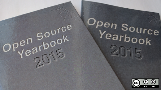 Open source yearbook cover 2015