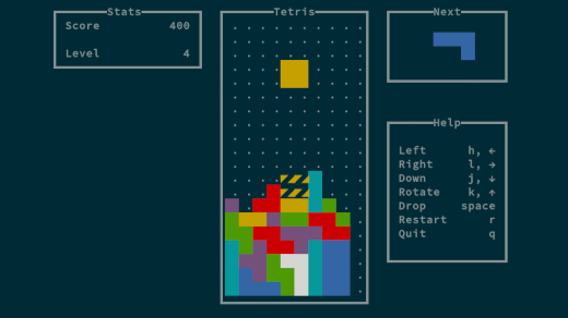 Play Tetris at your Linux terminal | Opensource com