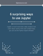 eBook cover 6 surprising ways to use Jupyter