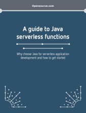 A guide to Java serverless functions eBook
