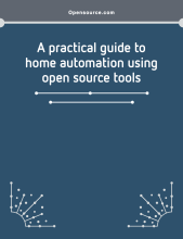 eBook cover for a practical guide to home automation using open source tools