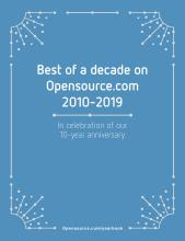 Opensource.com community yearbook best of a decade 2010-2019