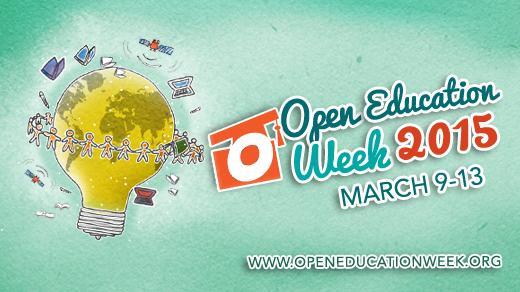 Open Education Week 2015, global event
