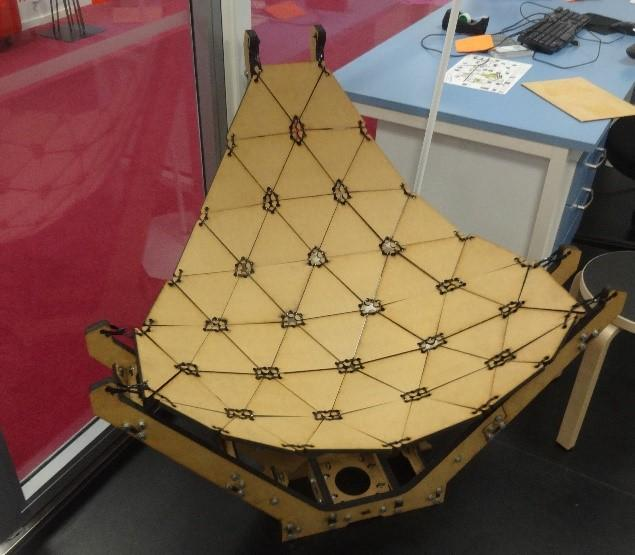 Chair created at Aalto Fablab