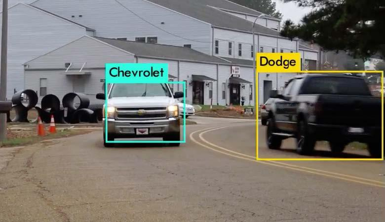 Traffic image detection
