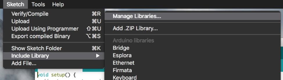 Manage libraries