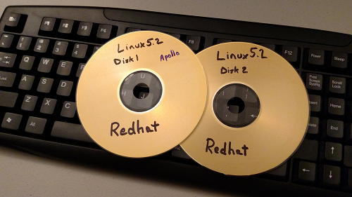 Red hat Linux install disks