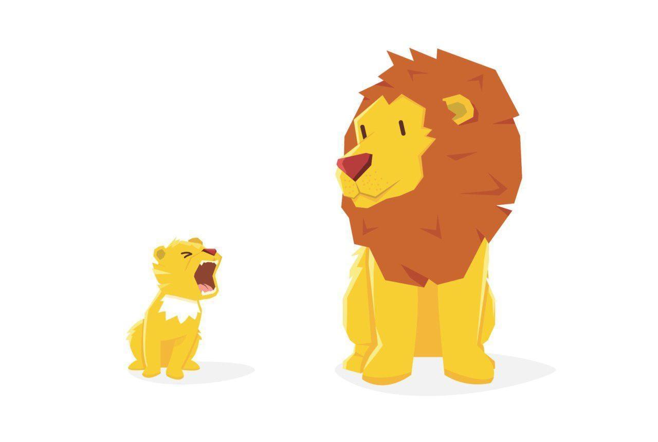 Mozilla Lion logo