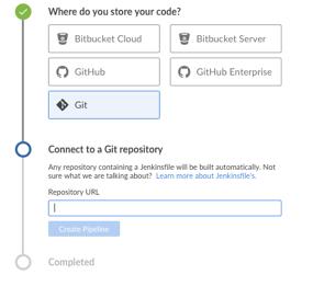 Enter repository URL