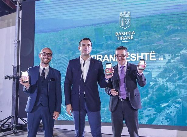 Tirana celebrates the launch of its open data portal, opendata.tirana.al