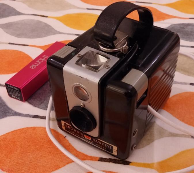Finished Kodak Brownie digital camera