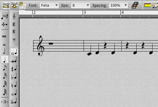 Notation editor