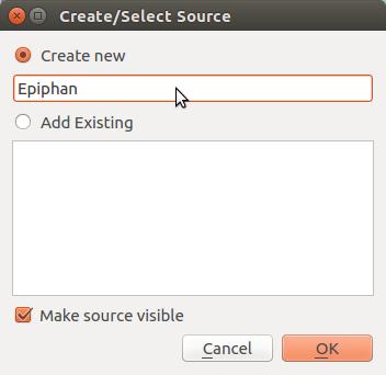Naming Epiphan source