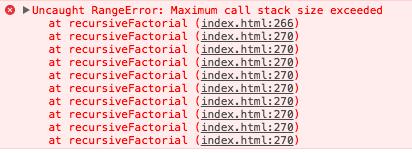 Stack overflow error
