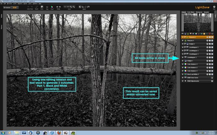 3 open source alternatives to Adobe Lightroom | Opensource.com LightZone's tool stack