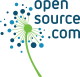 Opensource.com logo with dandelion