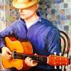 tim king: painting by kimberly wheaton