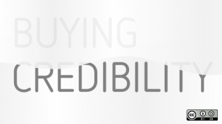 Buying credibility