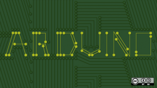 word arduino on green background