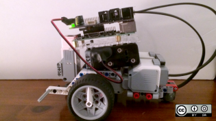 Program LEGO Mindstorms robots over WiFi with BrickPi