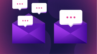 Chat via email