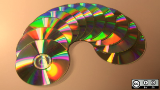 11 CDs in a U shape