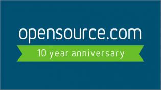 Opensource.com 10-year anniversary