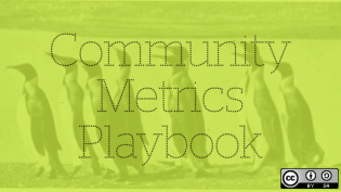 Tools for collecting and analyzing community metrics