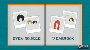Open Source Yearbook faces