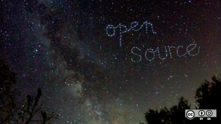 Open source stars.