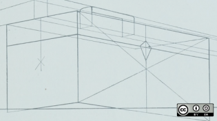 Toolbox drawing of a container