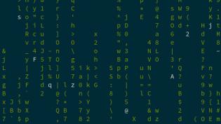 Linux toy: cmatrix