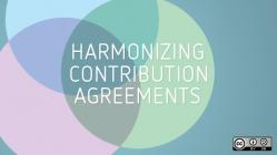 Harmonizing contribution agreements