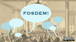 The first FOSDEM Legal Issues DevRoom