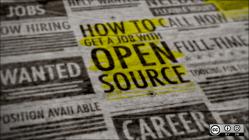 An open source job listing.