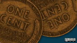 2 cents penny money currency