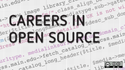 Careers in open source, code language background