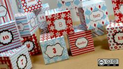 Advent calendar holiday boxes