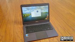Fedora Linux distro on laptop