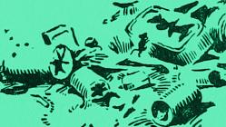 Garbage illustration