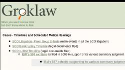 groklaw screenshot