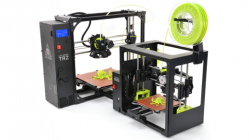 The LulzBot Taz 6 and LulzBot Mini 3D printers