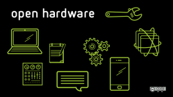 Open hardware with icons