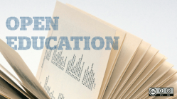 Open education in an open book